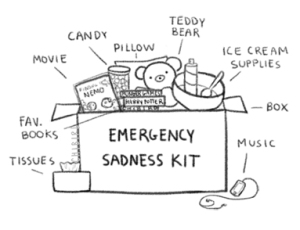 emergency sadness kit